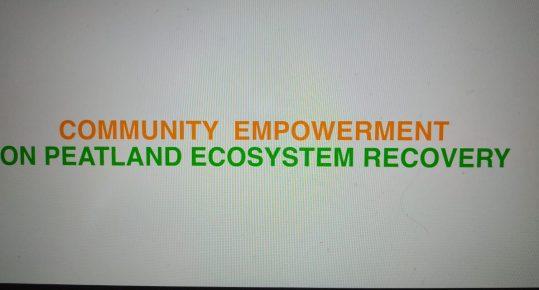 Pemberdayaan Masyarakat Dalam Pemulihan Ekosistem Gambut
