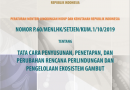 Permen No. 60 Tahun 2019 tentang Tata Cara Penyusunan, Penetapan, dan Perubahan Rencana Perlindungan dan Pengelolaan Ekosistem Gambut (RPPEG)